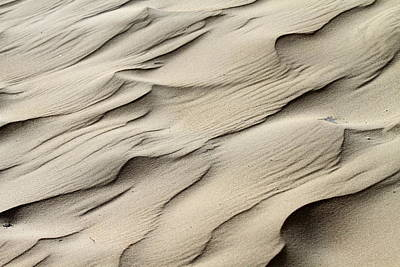 Abstract Sand 7 Art Print by Arie Arik Chen