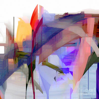 Digital Art - Abstract Series 7 by Rafael Salazar