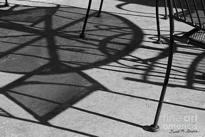 Photograph - Abstract Shadows by David Gordon
