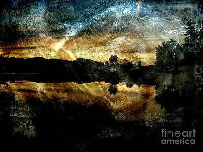 Photograph - Abstract Sky 3 by Jim Wright