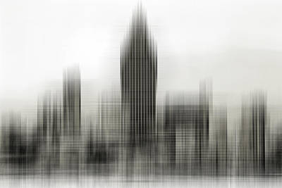 Abstract Skyline Art Print