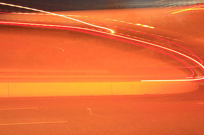 Photograph - Abstract Speed by Ann Murphy