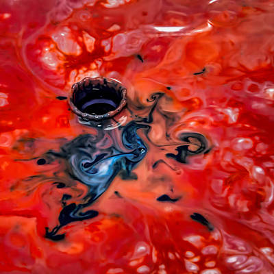Photograph - Abstract Splash 6 by John Crothers