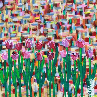 Painting - Abstract Spring by Aliya Michelle