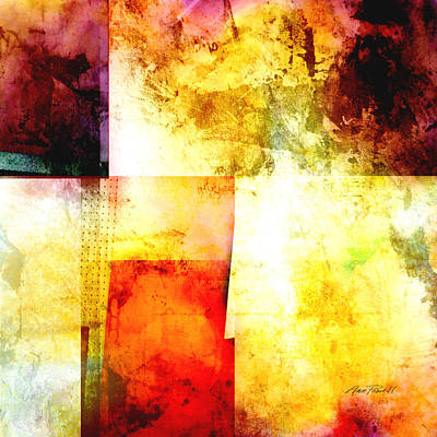 Digital Art - Abstract Square  by Ann Powell