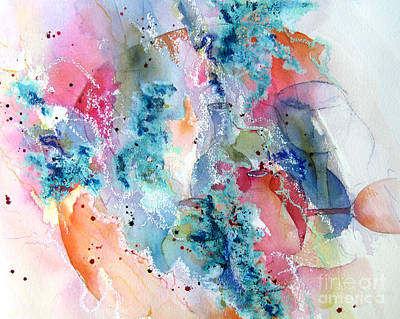 Painting - Abstract Still Life I by Vicki Brevell