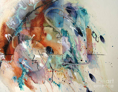 Painting - Abstract Still Life II by Vicki Brevell