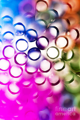 Vibrant Photograph - Abstract Straws 2 by Jane Rix