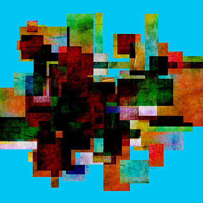 Digital Art - Abstract Study 30 - Abstract Art by Ann Powell