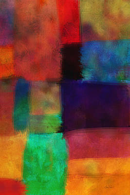 Digital Art - Abstract Study Five - Abstract - Art by Ann Powell