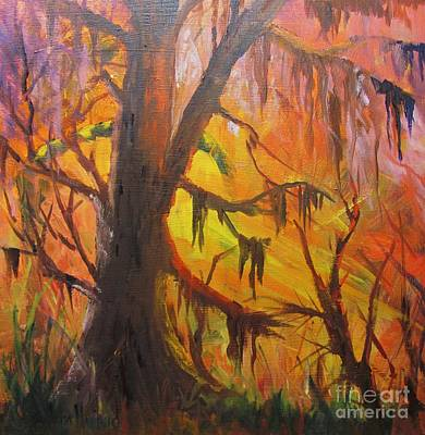 Abstract Swamp Art Print