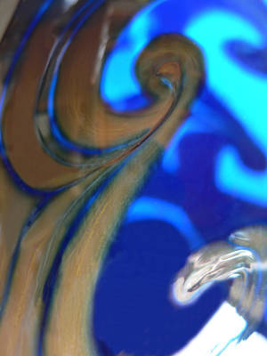 Photograph - Abstract Swirls by John Orsbun