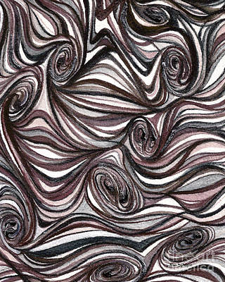Painting - Abstract Swirls  by Nan Wright