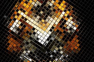 Abstract Tiger Original