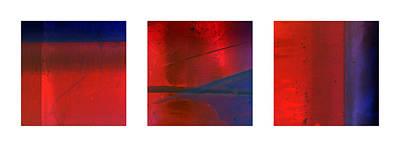 Trio Photograph - Abstract Triptychon 2 by Jochen Schoenfeld