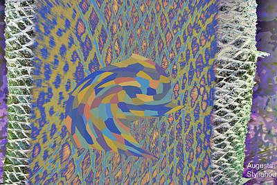 Digital Art - Abstract Trunk by Augusta Stylianou