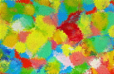Encaustic Digital Art - Abstract  Twenty  Of  Twenty  One by Carl Deaville