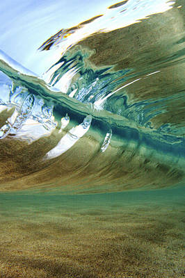 Beach Photograph - Abstract Underwater 2 by Vince Cavataio - Printscapes