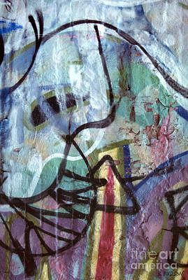 Photograph - abstract urban art - Paint Your Mountain by Sharon Hudson