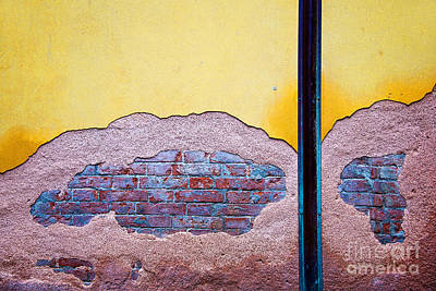 Minimalist Photograph - Minimal Wall by Delphimages Photo Creations