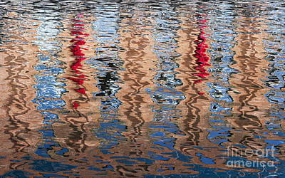 Abstract Movement Photograph - Abstract Water Ripples  by Tim Gainey