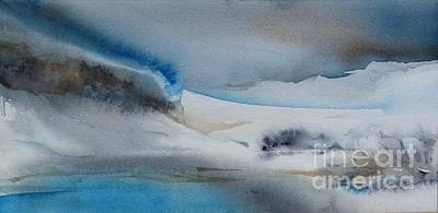 Painting - Abstract Winter by Donna Acheson-Juillet
