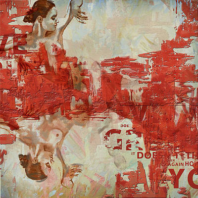 Fineartamerica Painting - Abstract Women 20 by Corporate Art Task Force