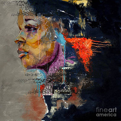 Painting - Abstract Women 20 by Mahnoor Shah