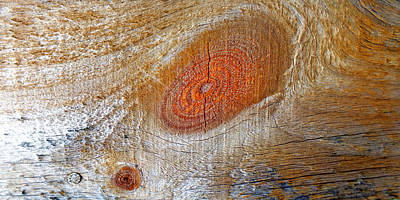 Photograph - Abstract Woodgrain Upclose 3 by Duane McCullough