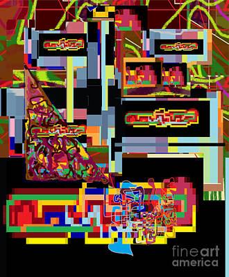 Inner Self Digital Art -  Hidden Ways Of Kedusha 1 by David Baruch Wolk