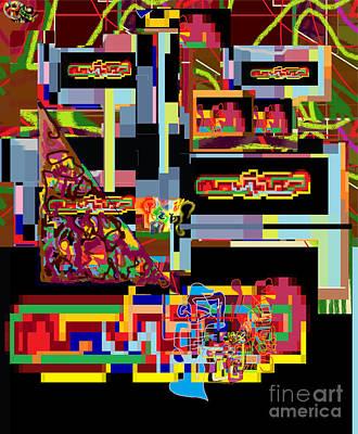 Inner Self Digital Art - Hidden Ways Of Kedusha 1b by David Baruch Wolk