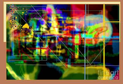 Inner Self Digital Art -  Hidden Ways Of Kedusha 3c by David Baruch Wolk