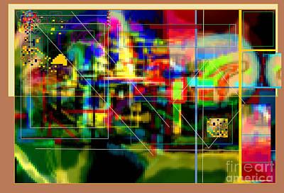Inner Self Digital Art -  Hidden Ways Of Kedusha 3e by David Baruch Wolk