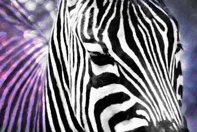 Abstract Zebra Original by Tommytechno Sweden