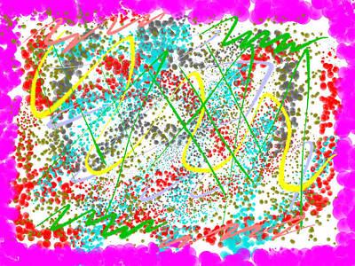 Dots And Lines Digital Art - Abstract2 by Ami Jasani