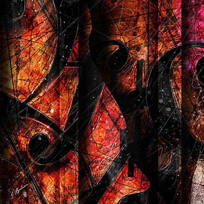 Abstracta_01 Symblz Print by Gary Bodnar