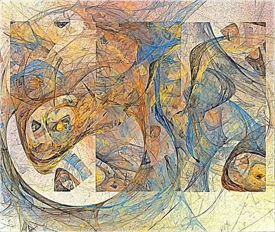 Colored Pencils - Abstraction 0499 marucii by Marek Lutek