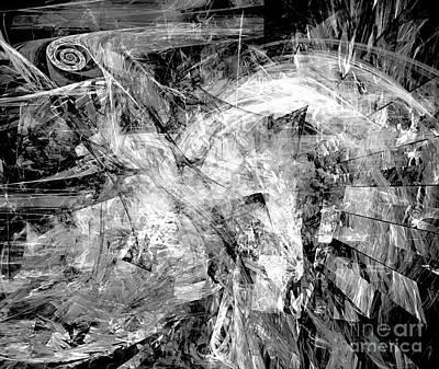 Barrelman Digital Art - Abstraction 0508 - Marucii by Marek Lutek