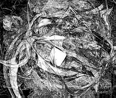 Barrelman Digital Art - Abstraction 0513 - Marucii by Marek Lutek