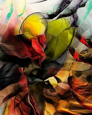 Abstraction 122614 Art Print by David Lane