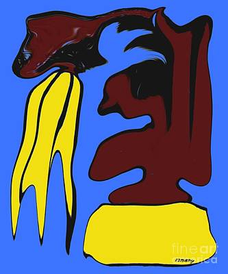 Abstraction 229 Art Print by Patrick J Murphy