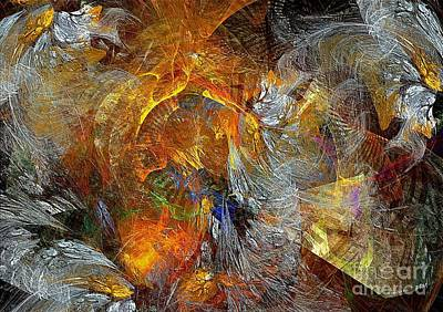 Abstraction 435-08-13  Marucii Art Print