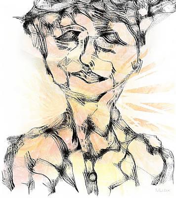 Digital Art - Abstraction 488-10-13 Marucii by Marek Lutek