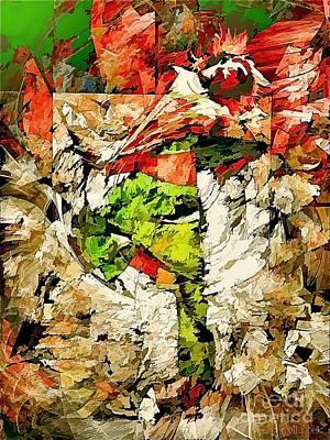 Digital Art - Abstraction 571-11-13 Marucii by Marek Lutek