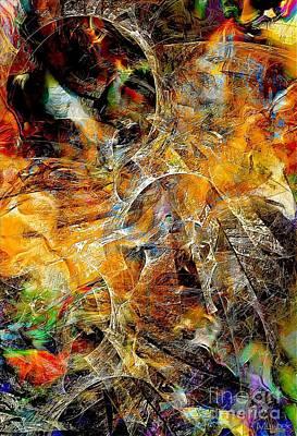 Graphics Painting - Abstraction 602-11-13 Marucii by Marek Lutek