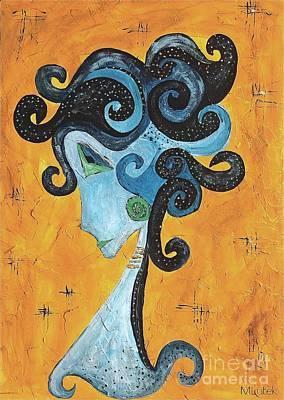 Graphics Painting - Abstraction 699 -marucii by Marek Lutek