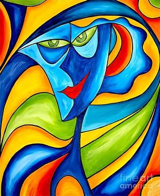 Graphics Painting - Abstraction 757 - Marucii by Marek Lutek