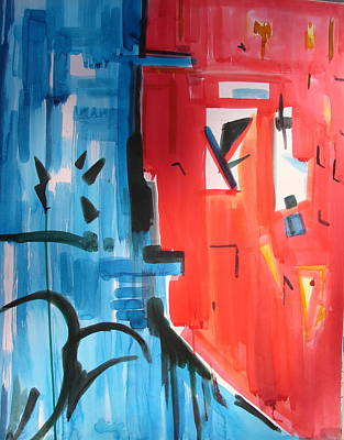 Painting - Abstraction by Anand Swaroop Manchiraju