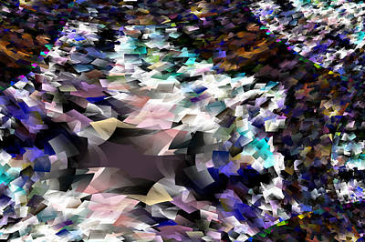Abstract Digital Photograph - Abstraction by Jeff Swan