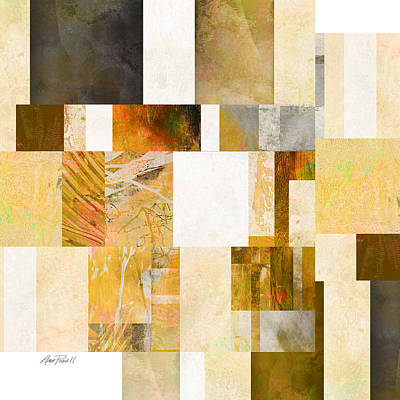Digital Art - Abstraction On A Square One  by Ann Powell